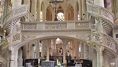 Eglise Saint-Etienne-du-Mont - jubé Renaissance