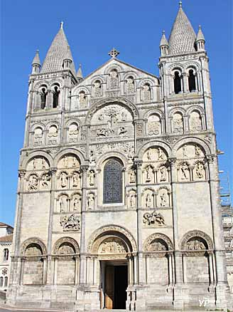 Cath drale saint pierre angoul me journ es du for Plan angouleme 16