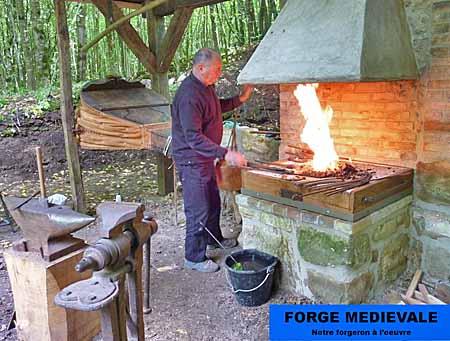 Le Ferrier de la Garenne - forge médiévale