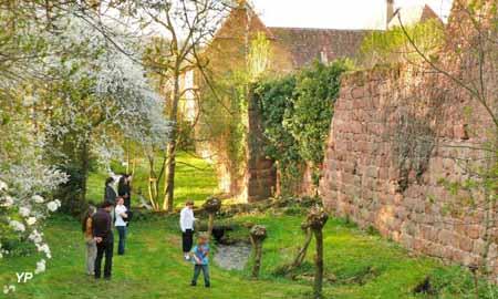 Un jardin philosophe - la promenade au long de la muraile