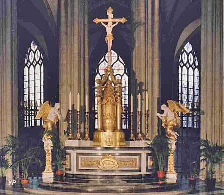Eglise Saint-Eloi - maître-autel (fin XVIIIe s.)