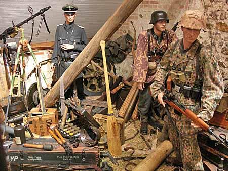 Musée Août 1944 l'Enfer sur la Seine - la débâcle allemande