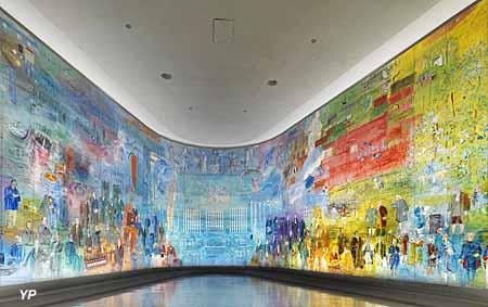Musée d'Art moderne de la Ville de Paris - La Fée Electricité (Raoul Dufy, 1937)