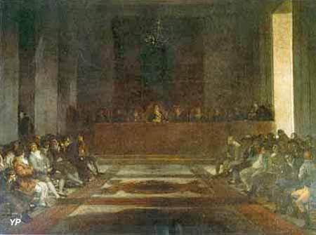 Musée Goya - la junte des Philippines (Francisco Goya)