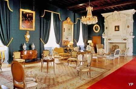 Château de Cazeneuve - salon Margot