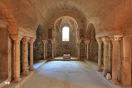 Crypte Saint-Oyand (VIe-VIIe siècle)
