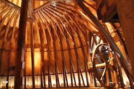 Charpente de la Tour du Moulin