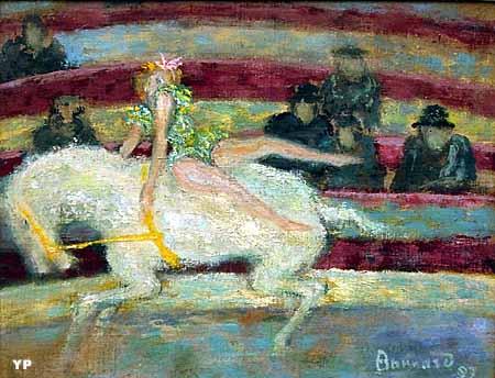 L'Ecuyère (Pierre Bonnard)