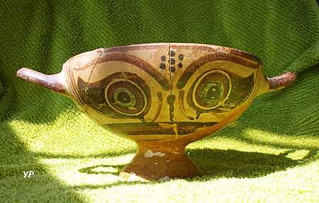 Musée des Corbières - coupe à yeux