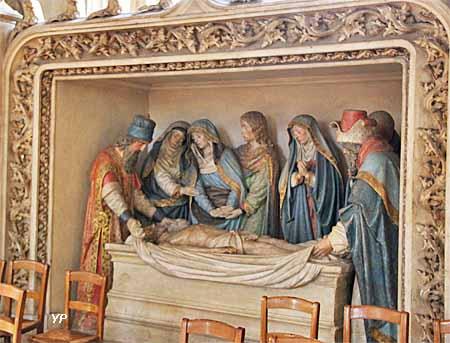 Église Sainte Madeleine - mise au tombeau