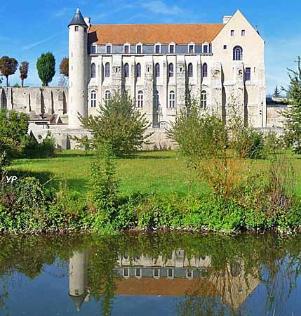 Château-Landon - abbaye Saint-Séverin (XIIe s.)
