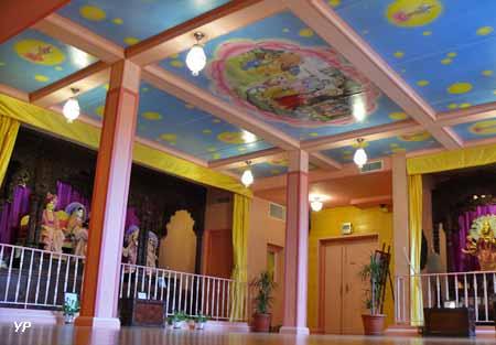 Temple Hindouiste de Gopalji Mandir - salle du temple