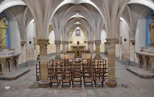 Crypte et châsse de sainte Colombe