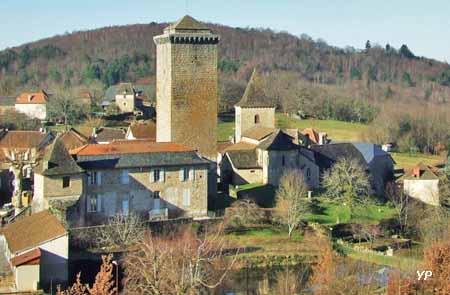 Teyssieu, tour médiévale (XIIIé s.)