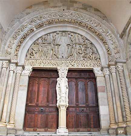Cathédrale Saint-Lazare - tympan du Jugement dernier (Gislebert)