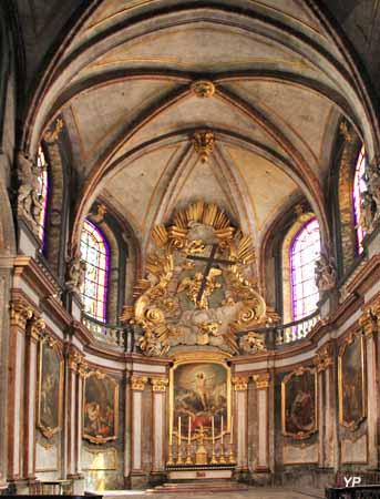 Cathédrale Saint-Jean - contre-choeur
