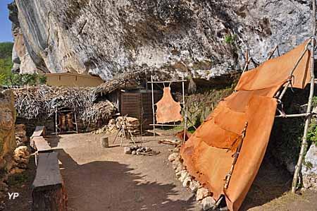 Abri préhistorique de Laugerie Basse - atelier Cro-Magnon Architecte