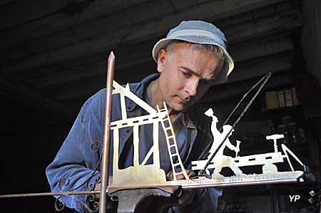 Thierry Soret, artisan girouettier