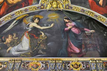 Chapelle Saint Anne : l'Annonciation