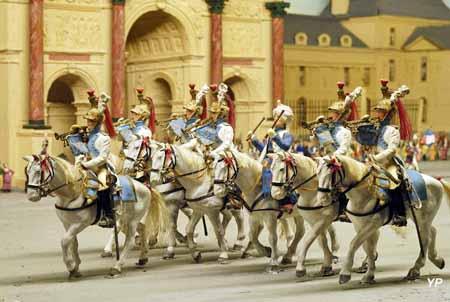 Musée de la Figurine historique - défilé des Tuileries
