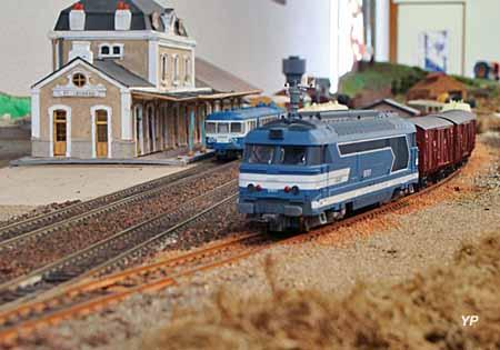 HistoRail, musée du chemin de fer - train miniature