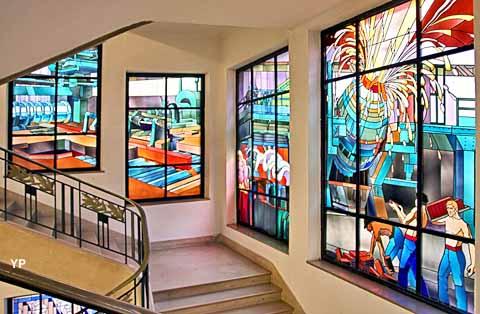 Vitraux majorelle longlaville journ es du patrimoine 2016 for Andrieux la maison du vitrail