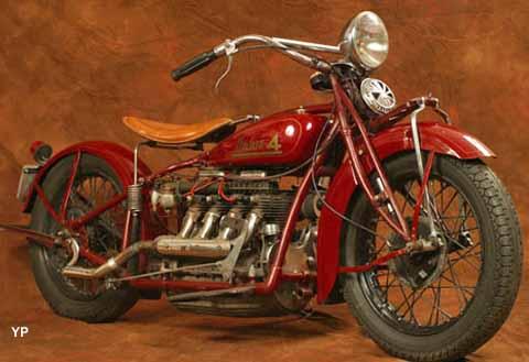 Musée de la Moto et du Vélo - moto Indian 4