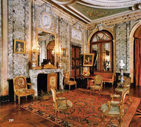 Château d'Arcelot - grand salon