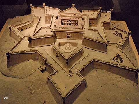 Maquette du fort Saint-Nicolas au musée des Plans Reliefs de Paris