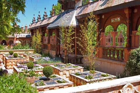 Jardins Secrets - jardin arlequin