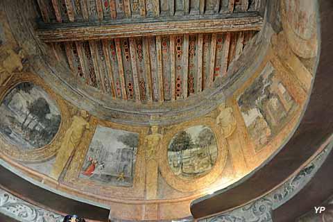 Peintures murales de la tour sud-ouest (XVIIe s.)