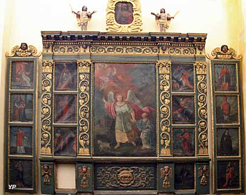 Cathédrale de la Nativité-de-Marie - retable de l'Ange gardien (XVIe s.)
