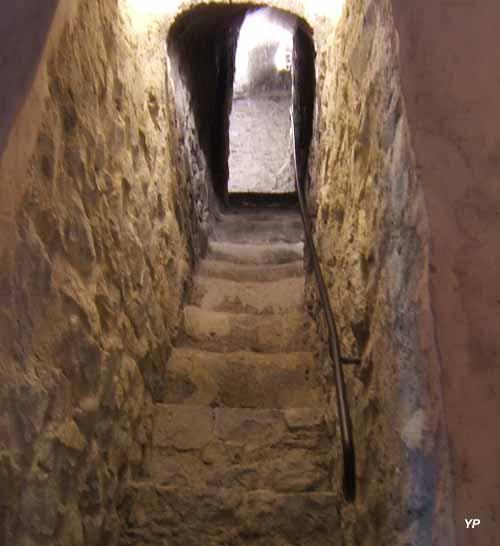Tour Montmayeur - escalier