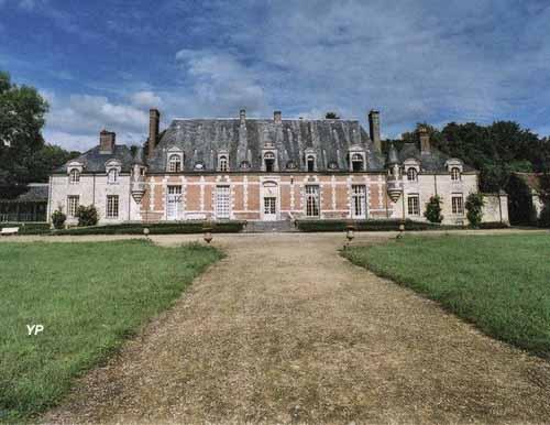 Château du Tertre - façade côté parc