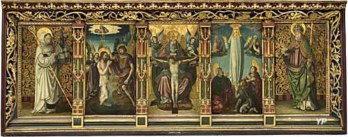 Musée des Beaux-Arts - retable de la Passion (anonyme français)