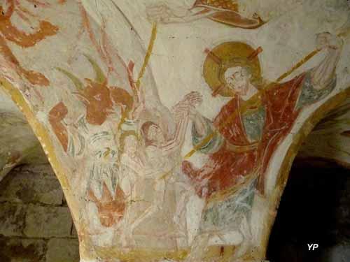 Église Saint-Nicolas - Descente aux enfers