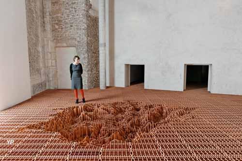 La Maréchalerie - Centre d'Art Contemporain - Sans titre (Vincent Mauger, 2012)