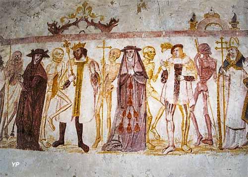 Église Saint-Germain - la Danse macabre