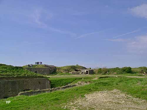 Fort de la Crèche - la batterie côtière