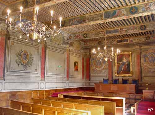 Salle d'audience du Parlement de Dombes