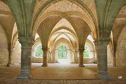 Abbaye de Vaucelles - salle capitulaire