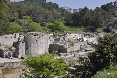 Site archéologique de Glanum - curie