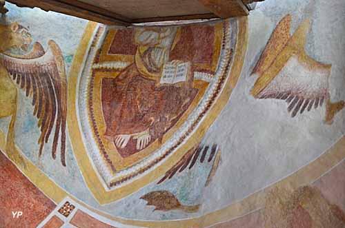 Chapelle Saint Eustache - Fragment du Christ en Majesté