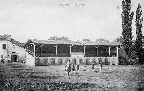 Arènes d'Estang en 1901
