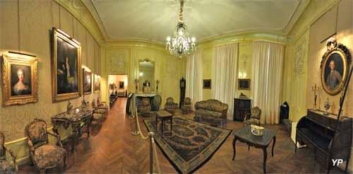 Musée de l'hôtel Sandelin - salon doré