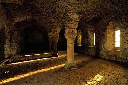 Abbaye Cistercienne de Clairmont - réfectoire des converts