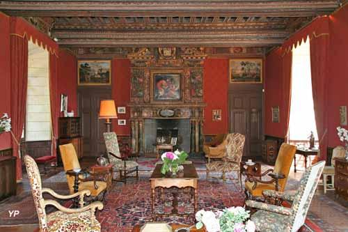 Château de l'Islette - grande salle