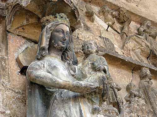 Église Notre-Dame de Rougemont - Vierge à l'enfant