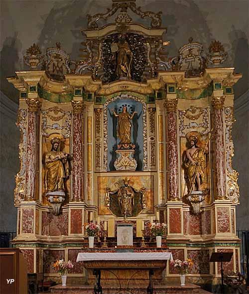 Église Sainte-Marie - retable du choeur