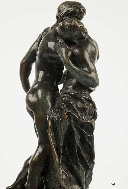 Musée Sainte-Croix - Camille Claudel, La Valse (1893), détail